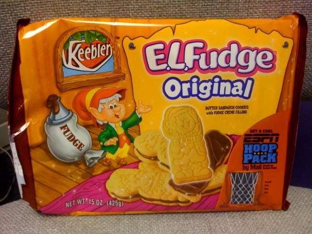 keebler elves fudge cookies
